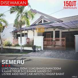 Rumah Besar Bagus Semeru Semarang Atas Gajahmungkur
