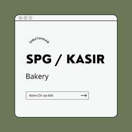Lowongan SPG/Kasir