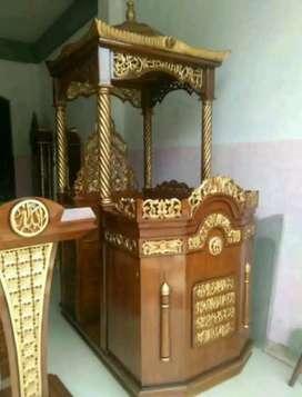 mimbar masjid pidato kekinian
