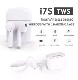 Headset i7s Tws Bluetooth Streo