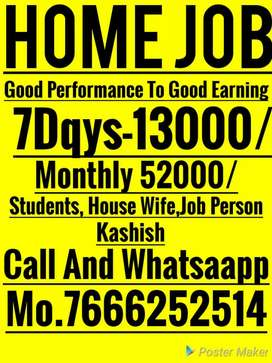 Great opportunity for all weekly salary 13000rs