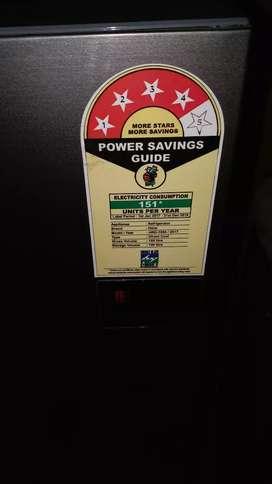Fridge/ Refrigerator 2year old...4 star... grey metallic