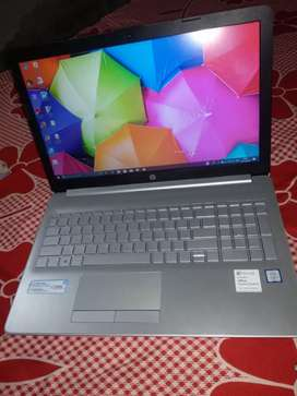 Hp laptop i3. 7th generation