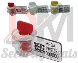 Segel Meter MEGA TWISTER SP + Kawat 20Cm / Segel Drum / Perkebunan / S