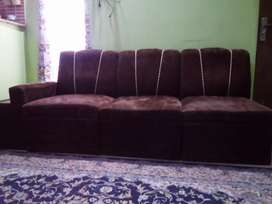 6 seater sofa set with center table for sale