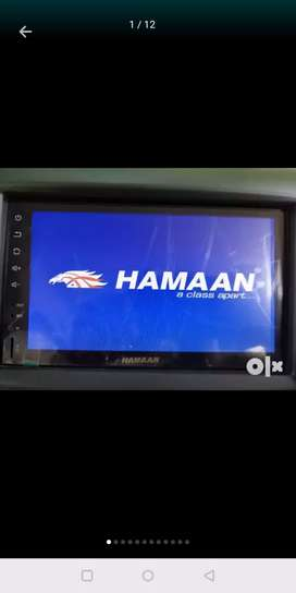 Hamaan 7 inch car stereo with reverse parking camera and remote