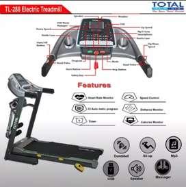 Barang Ready - Treadmill Elektrik 3 Fungsi TL-288 // Bebas Ongkir