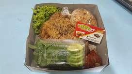 Ayam utuh/ ater ater