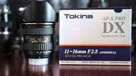 Tokina 11-16mm F2.8 at-x Pro DX II