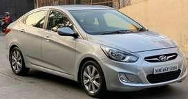Hyundai Verna Fluidic 1.6 CRDi SX Automatic, 2012, Diesel