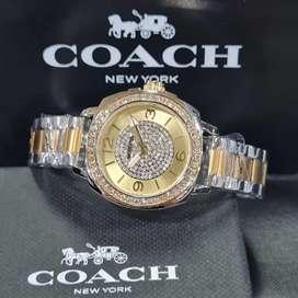 Jam wanita merk coach Hits kekinian original