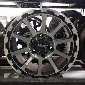 Velg Mobil Ring 17 Sidrap Untuk Pajero Fortuner Hilux Strada Dll Medan