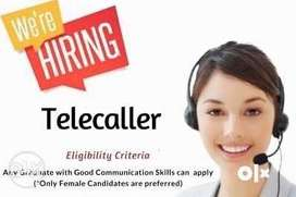 Need Female Telecaller for a leading consultancy