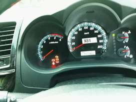 Fortuner VNT G Automatic Low KM Service Record
