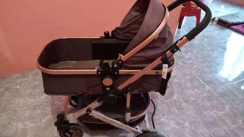 Jual stoller baru dpake 3x kondisi masi baru