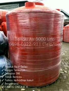 Tangki Air 5000 Liter Toren Air Berkualitas, Standar SNI