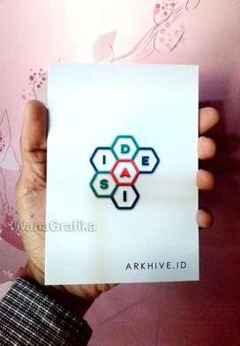 Cetak notes souvenir seminar kit murah
