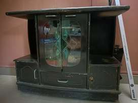 Tv cabinet with high storage