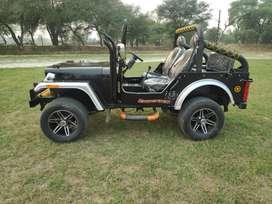 Modified open Jeeps Hunter jeeps