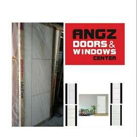 Pintu Angzdoor HDF Groove Series - Garansi 1th, Tahan Semua Suhu Cuaca