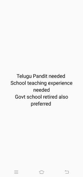 Telugu Pandit