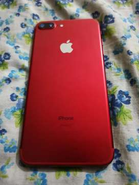 Iphone 7 plus 128g red color