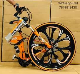 New 21 Gear Foldable bicycle/Cycle In All colours