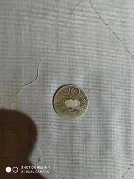 20paisa coin since 1970