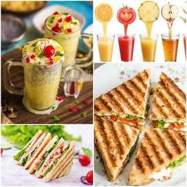 URGENTLY REQUIRE SANDWICH,BURGAR & MILKSHAKE CHEF