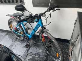 Hero Electric bicycle chargeble