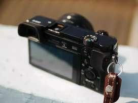 Sony A6000 Lensa Kit Meike 35mm