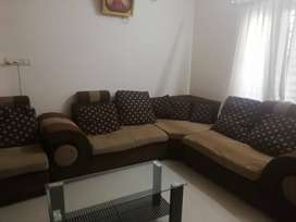 Corner Sofa with good condition( 3+2+1)+ 4 seaterr