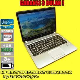 Laptop Bekas HP ENVY SPECTRE XT ULTRABOOK - SLIM - Core i7 gen 3 - Lan