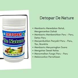 Detopar De Nature Obat Herbal Paru Paru Tbc Bronkitis Batuk Menahun