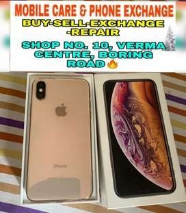 IPhone Xs (256GB) Gold Colour Available In Brand New Condition