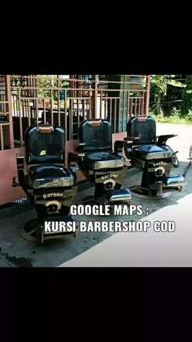 Kursi Barbershop Barber non hidrolik. Harga 3,7 sampai di area PAPUA