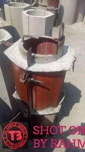 Cetakan buis beton diameter kecil 20.100