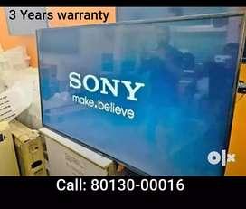 """40"""" Smart LED TV 3 Years warranty"""