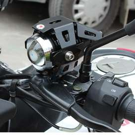 Huiermeimi Lampu Tembak Motor Transformer LED Cree