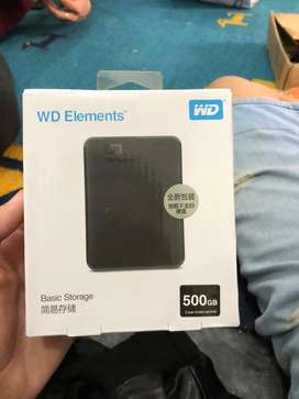 WD element brand new 500GB hard drive for sale