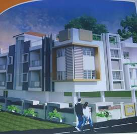 3BHK Under construction flat for sell at Beltola