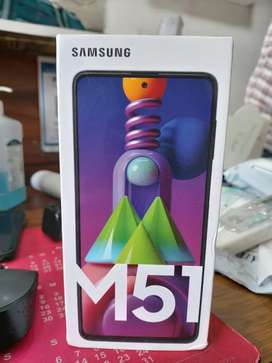 Samsung M51 6/128 gb Black Seal Pack New Phone