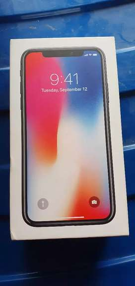 I PHONE X 64GB( 1 YEAR OLD) ( INDIAN PURCHASES)