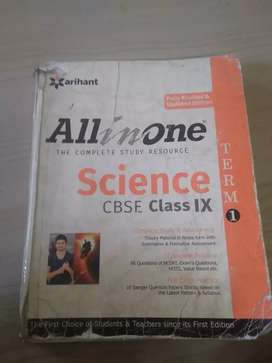 All in one guide CBSE science class 9 term1
