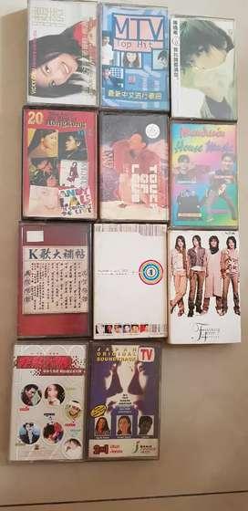 kaset pita musik lagu chinese/mandarin(F4, JackyCeung)