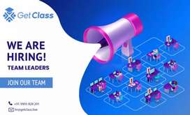 We are hiring team leaders for LMS