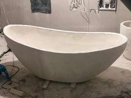 Bathub Terrazzo Nuansa Mewah 16