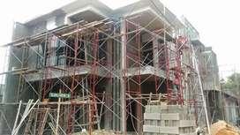 Jasa borongan rumah tinggal baru & renovasi