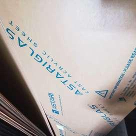 Acrylic Sheet / Kaca Mika 10mm BENING uk 122x244cm