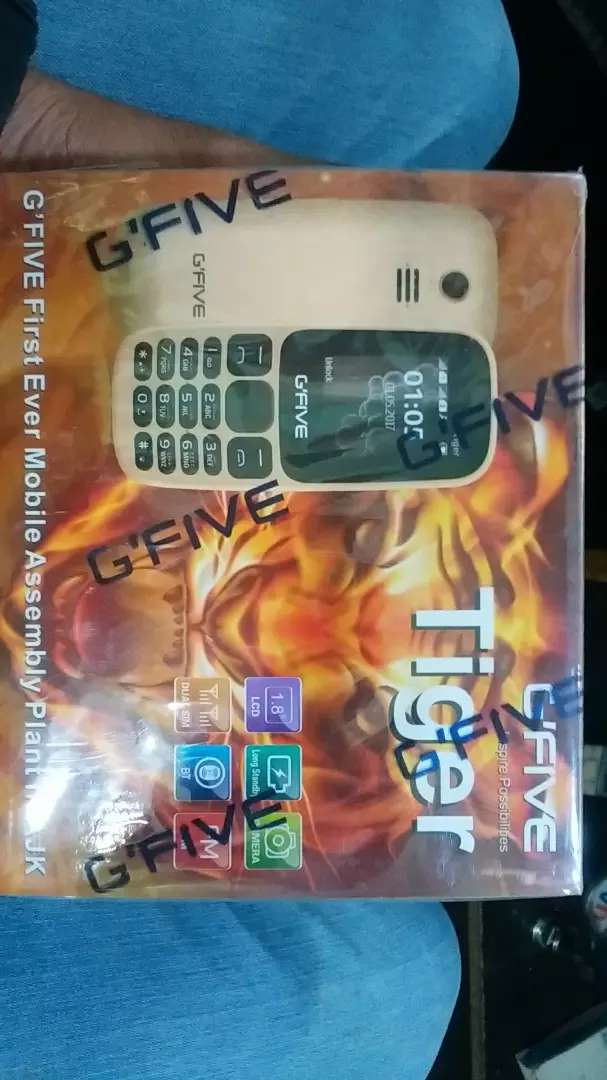 G Five Model: Tiger special discount Olx Costumers. 0